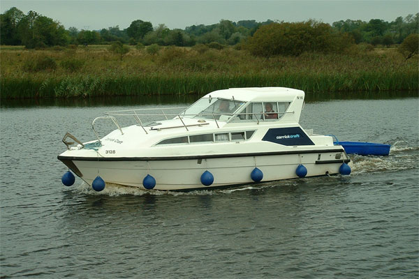 Boat Hire on the Shannon River - Carlow Class