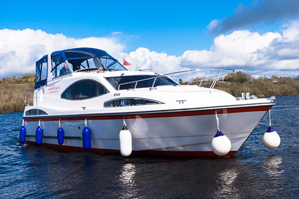 Boat Hire on the Shannon River - Inver Empress