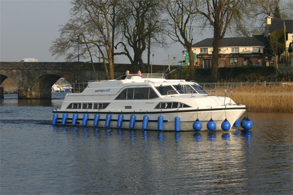 Boat Hire on the Shannon River - Roscommon Class