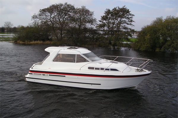 Boat Hire on the Shannon River - Silver Stream