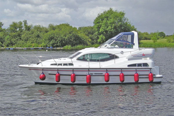 Boat Hire on the Shannon River - Silver Spray