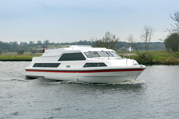 Boat Hire on the Shannon River - Inver Lady