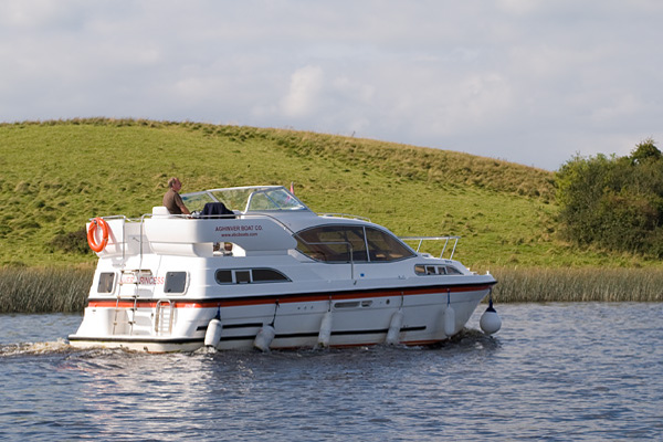Cruisers for hire on the Shannon River - Inver Princess
