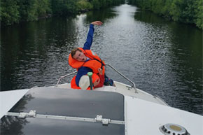 Shannon Boat Hire Gallery - Slipping and sliding
