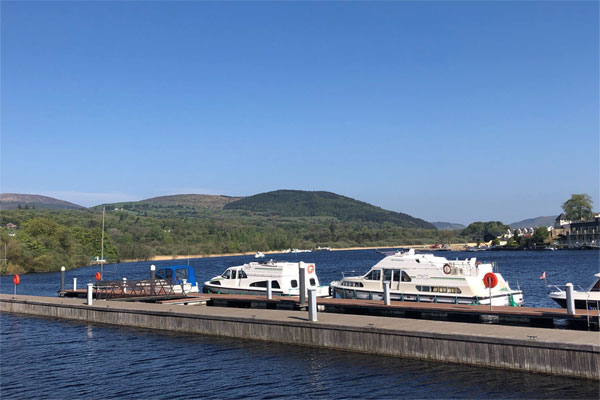 Moored on Lough Derg