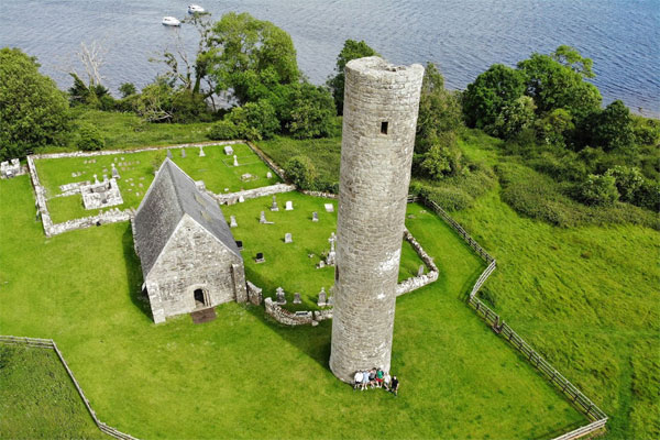 Shannon Boat Hire Gallery - Inis Cealtra, Holy Island on Lough Derg