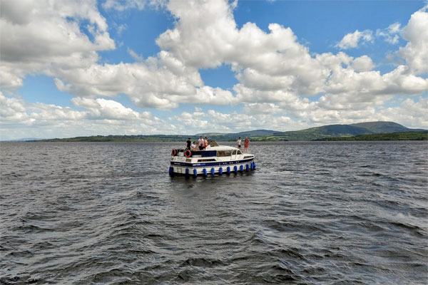 Cruising on Lough Derg