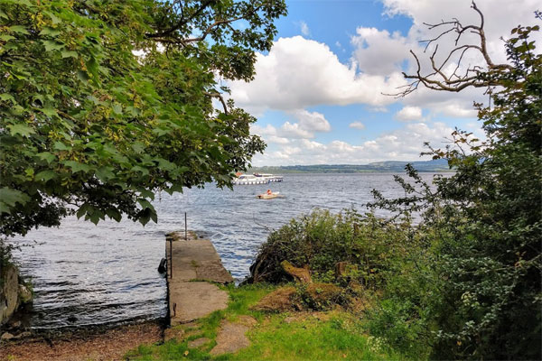 Shannon Boat Hire Gallery - Lough Derg from the shore