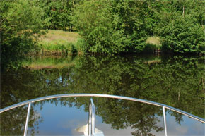 Shannon Boat Hire Gallery - Still water
