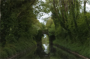 Shannon Boat Hire Gallery - Old bridge on a canal