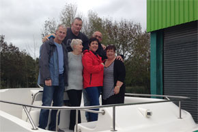 Shannon Boat Hire Gallery - Eunson Crew Photo