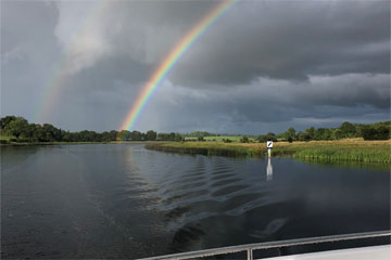 Shannon Boat Hire Gallery - We'll get that crock of gold yet...