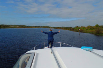 Shannon Boat Hire Gallery - The Queen of the World!
