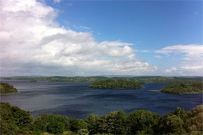 Shannon Boat Hire Gallery - View of Lough Key