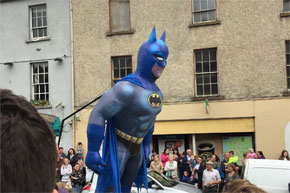 Shannon Boat Hire Gallery - Is it a bird? Sorry, wrong super hero