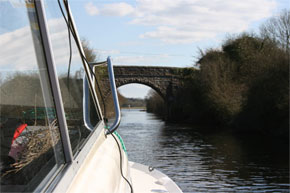 Shannon Boat Hire Gallery - Under the bridge