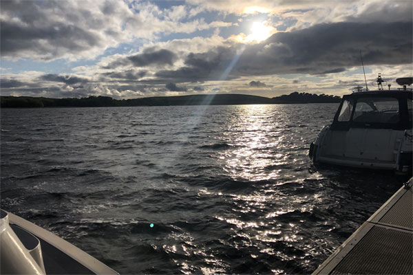 Moored on Lough Erne
