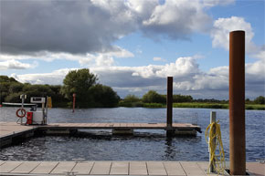 Shannon Boat Hire Gallery - The pier at Banagher