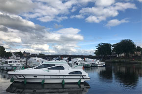 Shannon Boat Hire Gallery - Consul at Carrick-on-Shannon