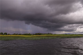 Shannon Boat Hire Gallery - Angry Clouds!