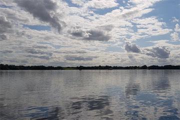 Shannon Boat Hire Gallery - Dead calm...