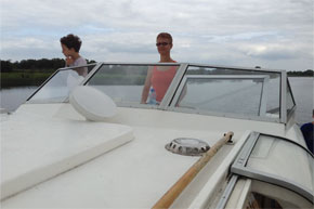 Shannon Boat Hire Gallery - Cruising on a Kilkenny Class