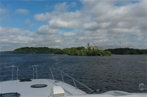 Shannon Boat Hire Gallery - Cruising Lough Key on an Elegance