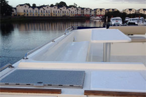 Shannon Boat Hire Gallery - View from the Bridge
