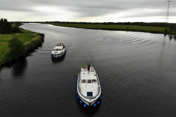 Shannon Boat Hire Gallery - Cruising on the Shannon from Lough Derg