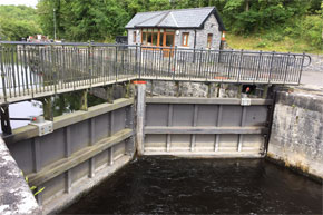 Shannon Boat Hire Gallery - Clarendon Lock at Lough Key