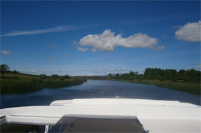 Cruising from Carrick-on-Shannon on a Fermanagh Class