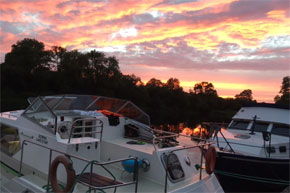 Shannon Boat Hire Gallery - What a Sky!