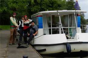Shannon Boat Hire Gallery - AHARR ME HEARTIES!