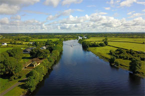 Cruising on the Shannon River