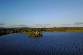 Lough Key Forest Park on the Shannon River
