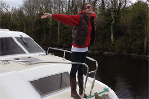 Shannon Boat Hire Gallery - Queen of the World!