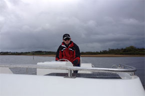Shannon Boat Hire Gallery - This is hard work...