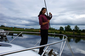 Shannon Boat Hire Gallery - Nice Rod!