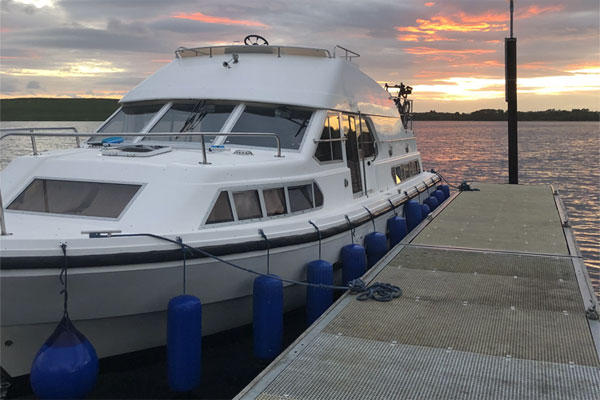 Moored on a Shannon Star