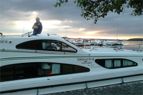 Shannon Boat Hire Gallery - An Elegance at Portumna