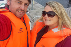 Shannon Boat Hire Gallery - Always time for a selfie
