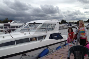 Shannon Boat Hire Gallery - All aboard for the magical mystery tour