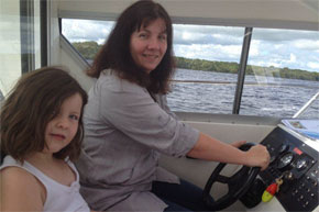 Shannon Boat Hire Gallery - The real Captain!