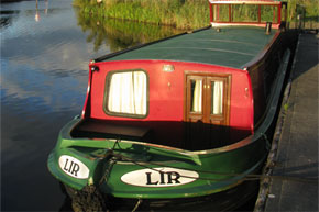 Shannon Boat Hire Gallery - Folk Class Barge