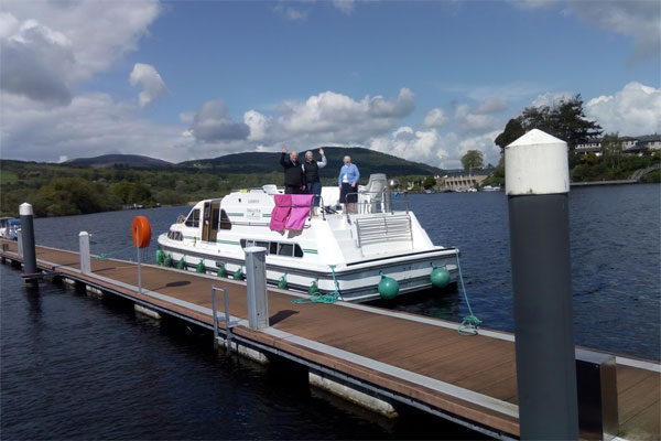 Shannon Boat Hire Gallery - Hi There!