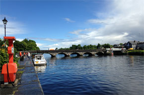 Shannon Boat Hire Gallery - Rooskey Bridge on the Shannon
