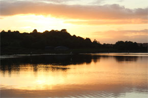 Shannon Boat Hire Gallery - Sunset on the Shannon