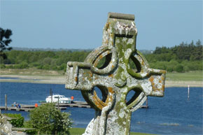 Shannon Boat Hire Gallery - View of the river from Clonmacnoise
