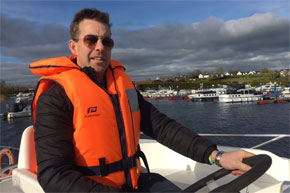 Shannon Boat Hire Gallery - Driving a Shannon Star
