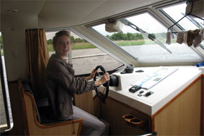 Shannon Boat Hire Gallery - Doesn't this go any faster?